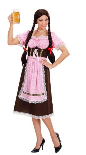Bavarian Beer Woman Plus Size Costume (7420)